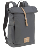 Lassig Rolltop Backpack Diaper Bag Anthracite