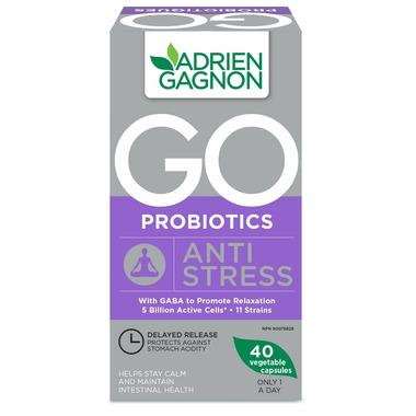 Adrien Gagnon Go Probiotics Anti-Stress