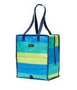 PackIt Freezable Grocery Bag Fresh Stripe
