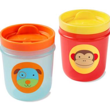 Skip Hop Zoo Tumbler Cup Monkey & Dog