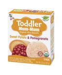 Hot-Kid Toddler Mum-Mum Organic Sweet Potato & Pomegranate Rice Biscuits