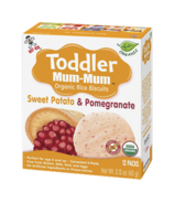 Hot-Kid Toddler Mum-Mum Organic Sweet Potato & Pomegranate Rice Biscuits