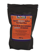NOW Foods Organic Sprouted Golden Flax Seed Meal