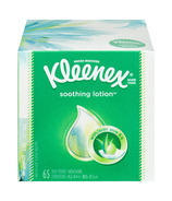 Kleenex Facial Tissue + Lotion Upright