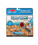 Melissa & Doug Water WOW ! Around Town Deluxe Water Reveal Pad