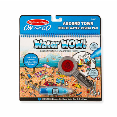 Melissa & Doug Water WOW! Around Town Deluxe Water Reveal Pad