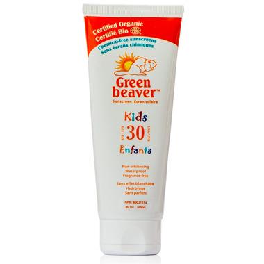 Green Beaver Kids Non-whitening Fragrance-free Sunscreen