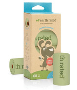 Earth Rated PoopBags Vegetable-based Refill Rolls