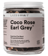 Lake & Oak Tea Co. Coco Rose Earl Grey