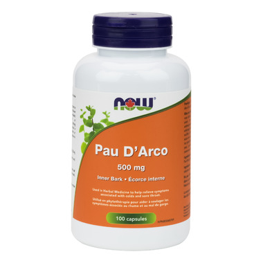 NOW Foods Pau D\'Arco 500 mg
