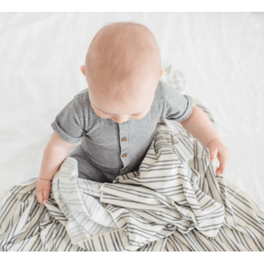 Copper Pearl Midtown Swaddle Blanket