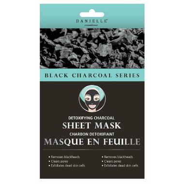 Danielle Creations Detoxifying Charcoal Sheet Face Mask