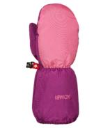 Kombi Patte d'ours pour enfant couleur flamant (Bear Paw Children Mitt Flamingo)