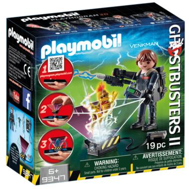 Playmobil Peter Venkman with Ghost