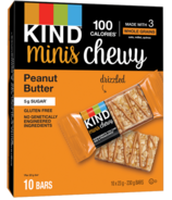 KIND Minis Bars Chewy Peanut Butter