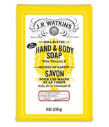 J.R Watkins Lemon Cream Castile Hand & Body Bar Soap