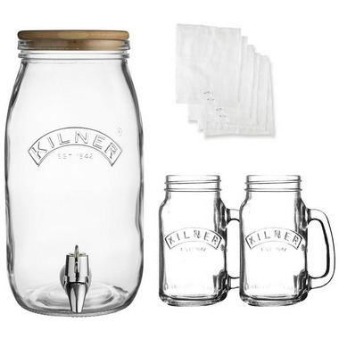 Kilner Kombucha Drink Set