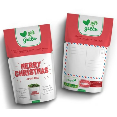 Gift-a-Green Merry Christmas Pouch