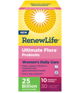 Renew Life Ultimate Flora Daily Womens Care, 25 Billion Active Cultures