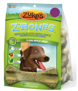 Zuke's Regular Z-Bones Clean Apple Crisp 8 Pack