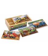 Melissa & Doug Construction Jigsaw Puzzle In A Box