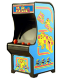 World's Smallest Tiny Arcade Ms. Pac-Man