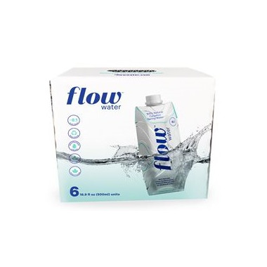Flow Water Naturally Alkaline Spring Water Case
