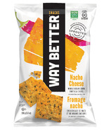 Way Better Snacks Nacho Cheese Corn Tortilla Chips