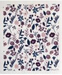 Ten & Co. Swedish Sponge Cloth Floral Mauve
