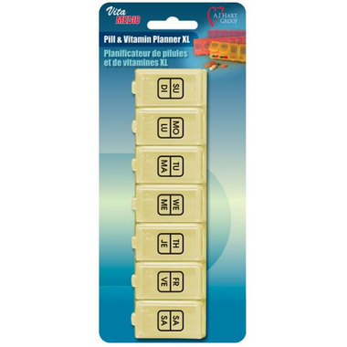 Card Health Care VitaMedic Pill & Vitamin Planner XL