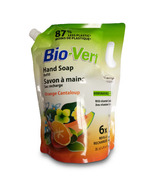Bio-vert Orange Cantaloup Hand Soap Refill