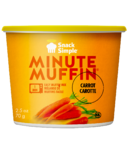 Snack Simple Carrot Minute Muffin