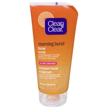 Clean & Clear Morning Burst Facial Scrub