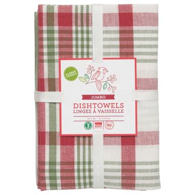 Now Designs Pure Kitchen Holiday Dishtowel Set