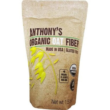 Anthony\'s Goods Organic Oat Fibre