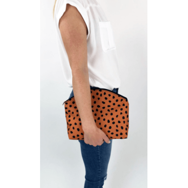 Logan and Lenora Waterproof Simple Clutch Meow