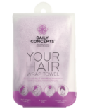 DAILY CONCEPTS Your Hair Wrap Towel - Purple