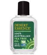 Desert Essence, huile d'arbre à thé 100% australienne