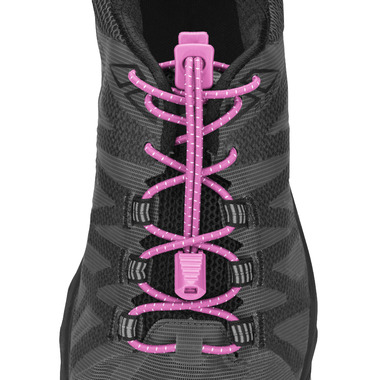 Nathan Sports Run Laces Pink