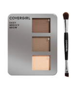 CoverGirl Easy Breezy Brow Powder Kit Rich Brown