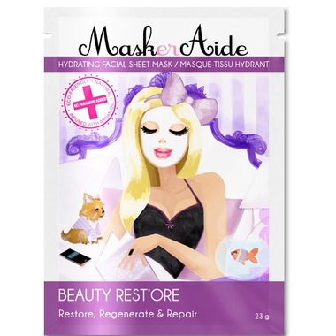MaskerAide Beauty Rest\'ore Hydrating Facial Sheet Mask