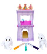 Crayola ensemble de jeu Scribble Scrubbie Peculiar Pet Palace