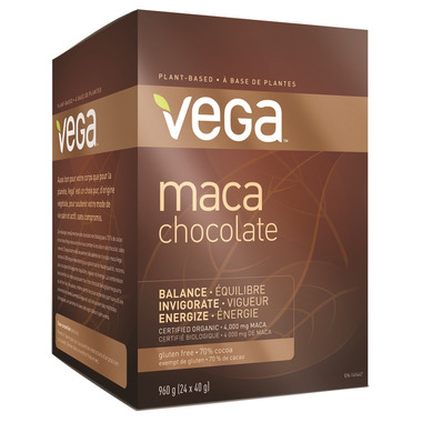 Vega Maca Chocolate Bars