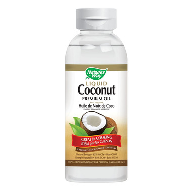 Nature\'s Way Liquid Coconut Oil