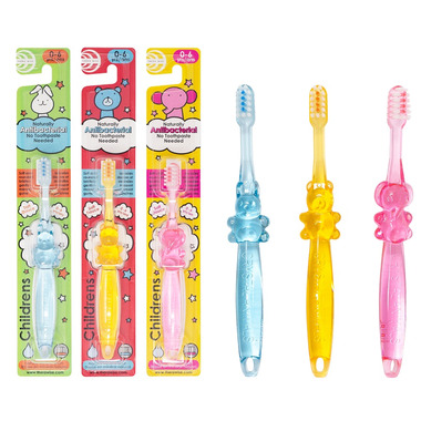 TheraWise Antibacterial No Toothpaste Needed Toothbrush