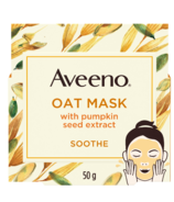 Aveeno Soothing Face Mask with Oat and Pumpkin Seed Extract
