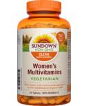 Sundown Naturals Women's Vegetarian Multivitamins