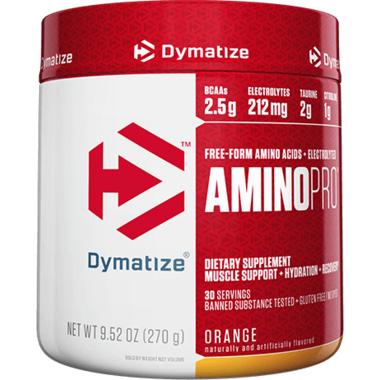 Dymatize Nutrition Amino Pro Caffeine Free Orange