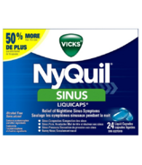 Vicks NyQuil Sinus Liquicaps