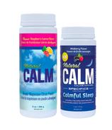 Natural Calm Magnesium Raspberry Lemon + Wildberry Bundle